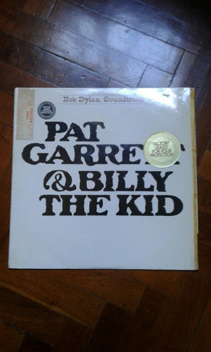Bob Dylan Pat Garret & Billy The Kid Vinilo Made In Usa