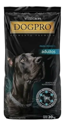 Alimento Dogpro Para Perro Adulto Todos Los Tamaños Sabor Mix En Bolsa De 20kg