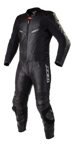 Macacão Motociclista Texx Furyan 2 Peça Couro Cupim Moto