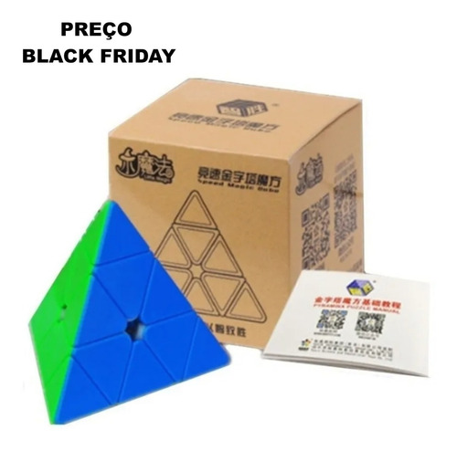 Cubo  Yuxin   Piraminx 3x3x3  Little Magic       Stickerless
