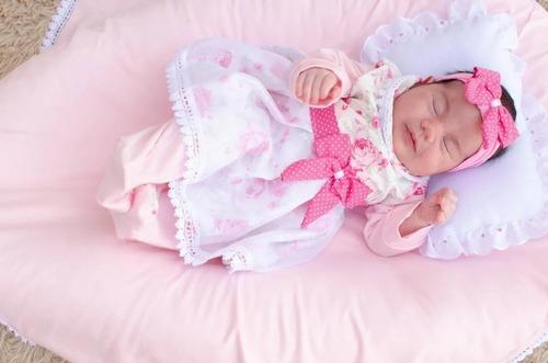 Saída De Maternidade Menina Lívia  5 Peças Cor 2