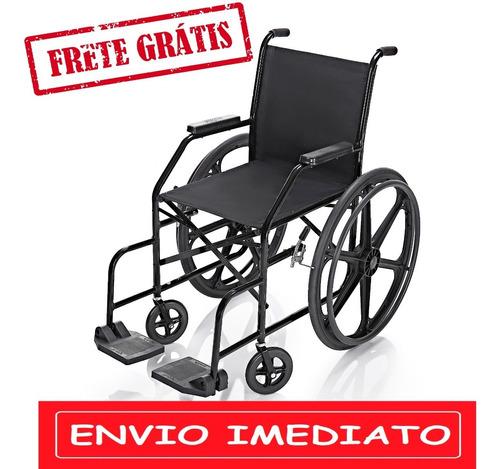 Cadeira De Rodas Simples Pl 001 Pneus Maciços