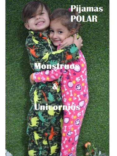 Pijama C/pies Y Cierre Enteriso Polar Kigurumi Dormilon