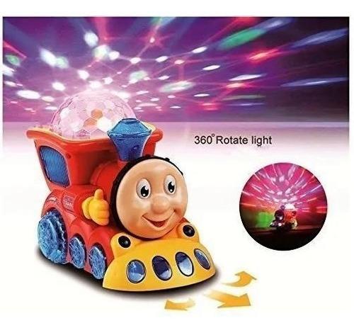 Brinquedo Infantil Trenzinho Som E Globo Luz Bate E Volta