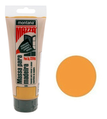 Massa P/ Calafetar Madeira Montana Mazza 220 Gramas Escolha