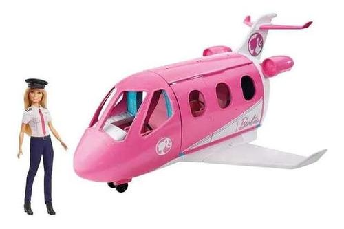 Oferta Jet Avion Barbie+muñeca Original De Mattel