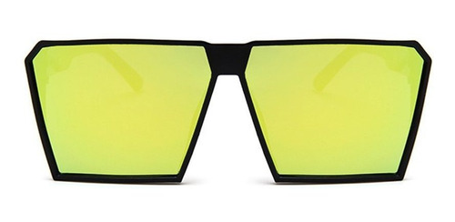Óculos De Sol Masculinos Femininos Com Armação Quadrada Gran
