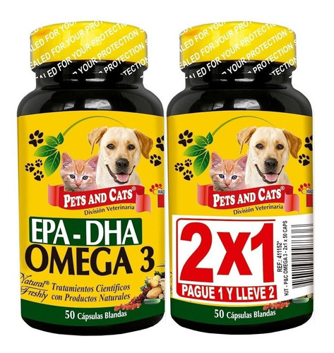Omega 3 (2x1) Natural Freshly