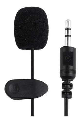 Microfone De Lapela Pc Notebook Palestrante Conferencia P2