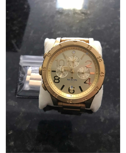 Relógio Nixon, 48-20, Dourado