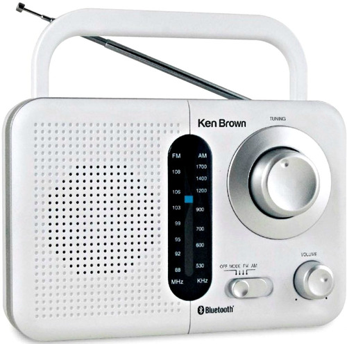 Radio Am Fm Ken Brown Bluetooth Pilas 220v Tr412bt Gtia