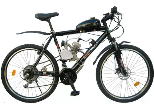 Kit Motor Para Bicicleta S/partida Eletrica 80cc Completo 2t