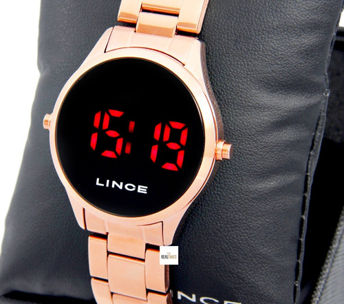 Relógio Lince Feminino Digital Rose Mdr4618l Vxrx
