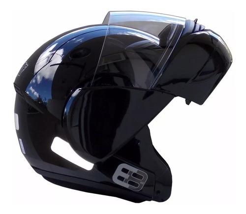 Capacete Moto Ebf E8 Articulado / Escamoteavel / Robocop