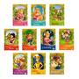 Kit Livro Infantil Clássicos De Ouro 10 Histórias Ilustradas