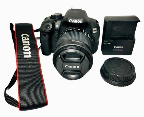 Câmera Canon 700d T5i C 8 Mil Cliques Impecavel Seminova