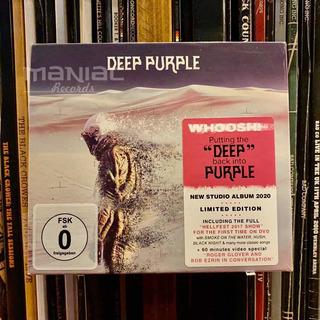 Deep Purple Whoosh! Deluxe Mediabook Cd Dvd