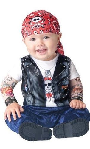 Nacido Para Ser Salvaje Disfraz De Bebe / Niño Negro / Blanc