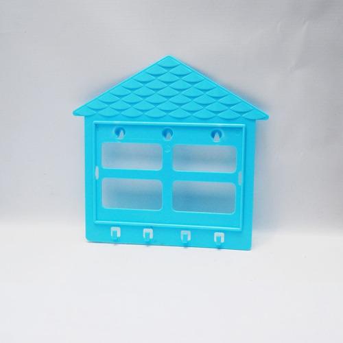 Porta Retrato E Porta Chave Azul