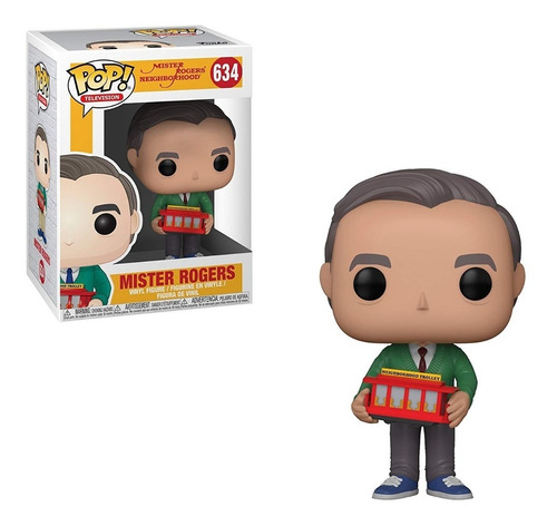 Funko Pop Tv Mr Rogers Coleccionable Figura, Multicolor Funk