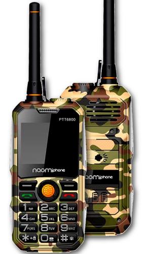 Celular Uso Rudo Naomiphone PTT6800 2g Radio, Gran Linterna, Powerbank 6600mah
