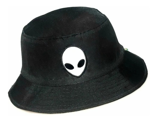 Chapéu Bucket Preto Alien - Et - Boné - Touca