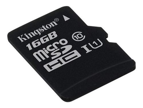 Tarjeta De Memoria Kingston Sdc10 Con Adaptador Sd 16gb