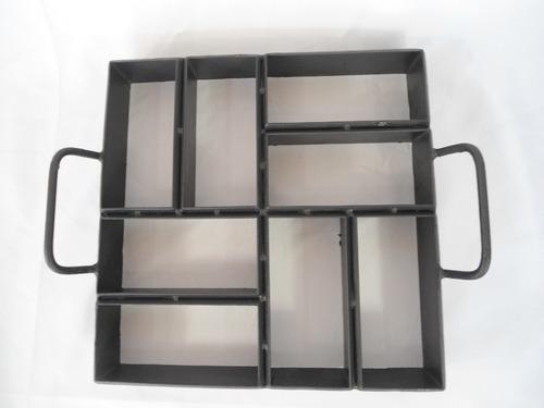 Forma 8 Bloquetes  Paver Retangular 20x6cms