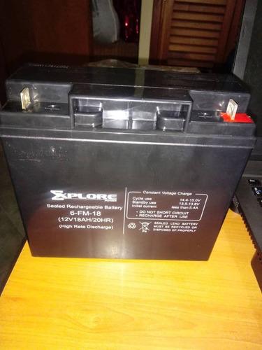 Bateria Ups Explore 12v/18ah Modelo 6-fm-18
