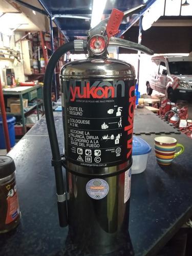 Matafuego Yukon De Acero Inoxidable Premium