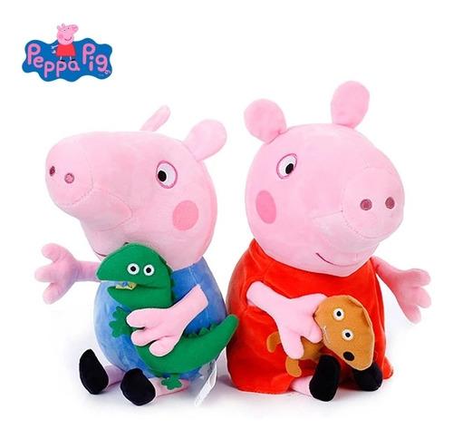 Set Peluches Peppa Pig Y George 20 Cm