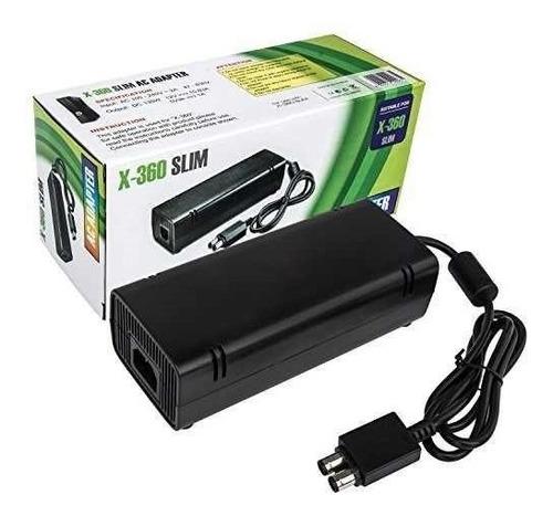 Fuente De Poder Adaptador Corriente Xbox 360 , Slim 2 Puntas