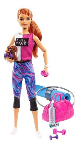Barbie - Fashion Muñeca Día De Spa  Gkh73-gjg57