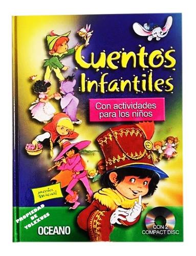 Libro Cuentos Infantiles Oceano Con 2 Cds