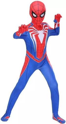 Cosplay Homem Aranha Infantil Do Game De Ps4 Spider