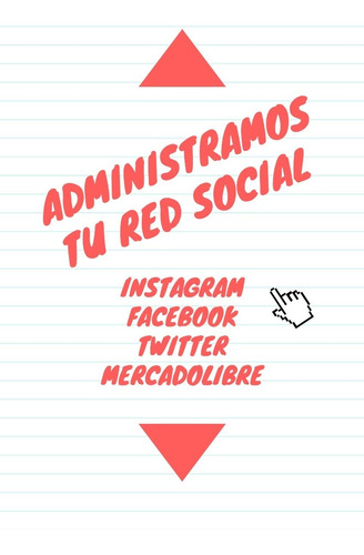 Community Manager - Gestion Redes Sociales - Administracion