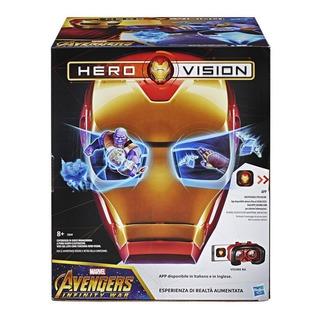 Máscara Casco Iron Man Vision Hasbro E0849 Realidad Aumentad