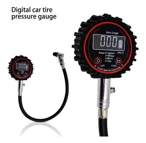 Medidor De Pressão De Pneu De Carro Moto Digital Air Auto Ti