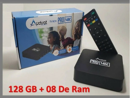 Tv Box  8gb De Ram  128 Gb De Memória Smart Tv.