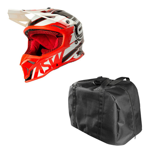 Capacete Asw Blade Motocross Fusion Blade 2.0