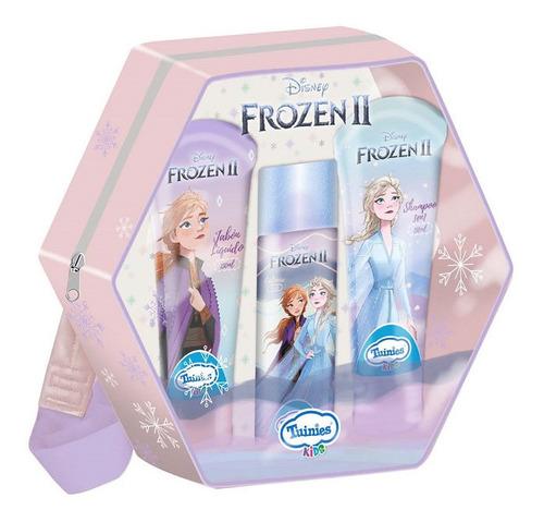 Set Mochila Frozenshampoo 3en1jabónlíquido Colonia
