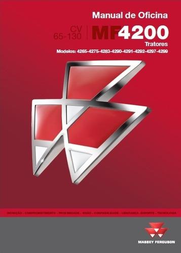 Manual De Serviço Tratores Massey Ferguson Linha 4200