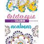 Livro Arteterapia Para Colorir E Acalmar Pintura De Mandalas