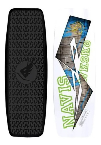 Wakeskate Navis 108cm Wake Skate + Manete C/ Cabo