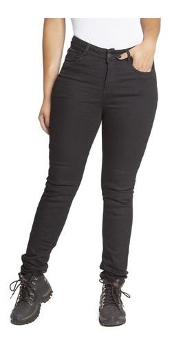 Calça Feminina Moto Jeans Kevlar Com Proteçao Corse Texx
