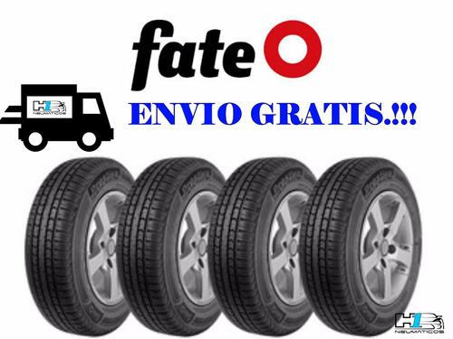 Kit De 4 Neumaticos Fate 175/70/13 Con Envio Gratis.!!
