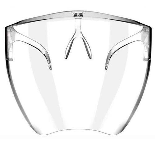 Protetor Facial Acrilico Transparente Proteção Para Rosto