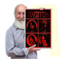 Quadro Placa Led Zeppelin Plant Page Cassic Rock Tam A3 01