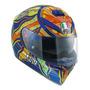 Capacete Para Moto Integral Agv K 3 Sv Five Continents Multicolor Tamanho Xl