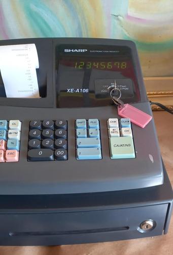 Caixa Registradora Calculadora Com Gaveta Dinheiro Sharp 101
